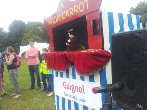Guignol on stage
