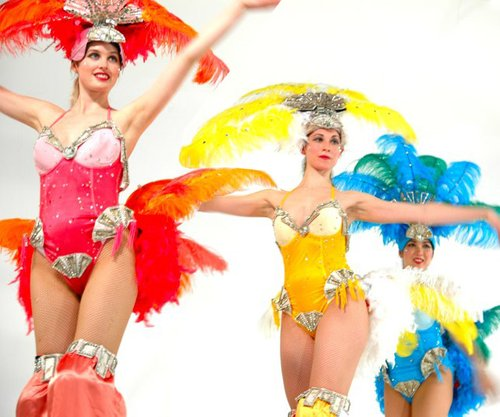 Showgirls - multicoloured