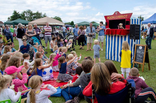 Puppet Show at outdoor event