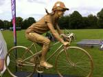 golden cyclist
