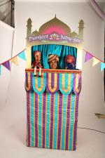 Asian Style Punch and Judy Booth