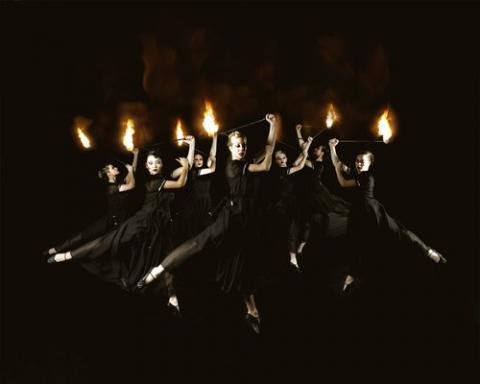 Black Fire dancers